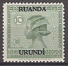 Briefmarke Ruanda-Urundi Mi.Nr. 23 ** Freimarke 1929 (#10001)