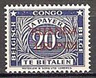 Briefmarke Ruanda-Urundi Portomarke Mi.Nr. 9 ** Portomarke 1943 (#10019)