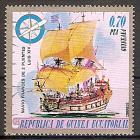 Briefmarke Äquatorial Guinea Mi.Nr. 658 ** Schiffe 1975 Motiv: Segelschiff Französischer Zweidecker Ludwig XIV. (#10029)