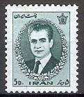 Briefmarke Iran Mi.Nr. 1283 ** Freimarken 1966 Motiv: Mohammad Reza Schah Pahlavi (#10041)