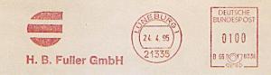Freistempel B66 8336 Lüneburg - H. B. Fuller GmbH (#1250)