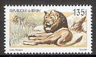 Briefmarke Benin Mi.Nr. 1324 ** Löwen 2001 Motiv: Löwe (Panthera leo) (#10051)