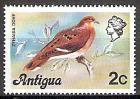 Briefmarke Antigua und Barbuda Mi.Nr. 401 I ** Landesmotive 1976 Motiv: Vögel - Küstentaube (Zenaida aurita) (#10059)