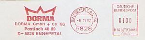 Freistempel B66 0854 Ennepetal - DORMA GmbH + Co. KG (#1305)