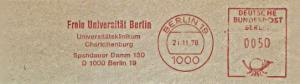 Freistempel Berlin - Freie Universität Berlin - Universitätsklinikum Charlottenburg (#1338)