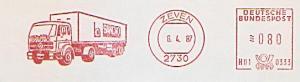 Freistempel H01 0333 Zeven - SANOVO (Abb. LKW) (#1340)