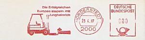 Freistempel Norderstedt - Die Erfolgreichen Europas stapeln mit Jungheinrich (Abb. Gabelstapler) (#1341)