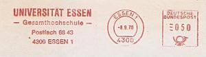 Freistempel Essen - Universität Essen - Gesamthochschule (#1343)