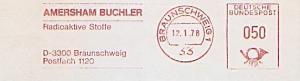 Freistempel Braunschweig - AMERSHAM BUCHLER - Radioaktive Stoffe (#1345)
