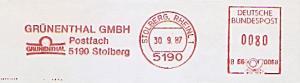 Freistempel B66 0068 Stolberg, Rheinl - GRÜNENTHAL GMBH (#1350)