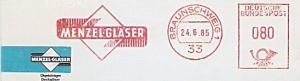 Freistempel Braunschweig - MENZEL GLÄSER (#1355)