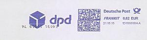Freistempel 1D100010AA - dpd (#1361)