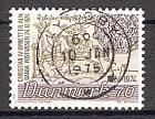 Briefmarke Dänemark Mi.Nr. 577 o 350 Jahre Dänische Post 1974 Motiv: Post - Postbote von 1624, Postreiter von 1780 (#10092)