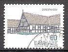 Briefmarke Dänemark Mi.Nr. 537 o Baukunst 1972 Motiv: Architektur - Hof in Ostbornholm (#10098)