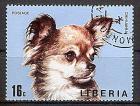 Briefmarke Liberia Mi.Nr. 916 A o Hunderassen 1974 Motiv: Hunde - Chihuahua (#10100)