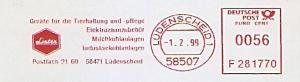 Freistempel F281770 Lüdenscheid - Lister - Geräte für die Tierhaltung und -pflege, Elektrozaunzubehör, Milchkühlanlagen, Industriekühlanlagen (#1399)
