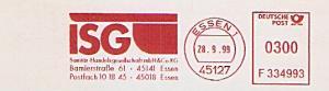 Freistempel F334993 Essen - ISG Sanitär Handelsgesellschaft mbH & Co. KG (#1400)