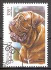 Briefmarke Benin Mi.Nr. ---- o (Nicht im Michel katalogisiert!) Hunderassen 2003 Motiv: Hunde - Bordeaux Dogge (#10109)