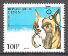 Briefmarke Benin Mi.Nr. 678 o Hunde 1995 Motiv: Hunde - Boxer (#10110)