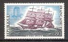 Briefmarke Frankreich Mi.Nr. 1745 ** Kap-Hoorn-Segler 1971 Motiv: Schiffe - Viermastbark Antoinette (#10115)
