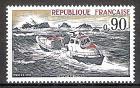 Briefmarke Frankreich Mi.Nr. 1871 ** Rettung aus Seenot 1974 Motiv: Schiffe - Rettungsboot Pierre Loti (#10119)