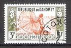 Briefmarke Dahomey Mi.Nr. 180 o Berufe 1961 Motiv: Fischer (#10135)