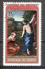Briefmarke Burundi Mi.Nr. 752 A o Ostern 1971 Motiv: Gemälde - Noli me tangere von Antonio da Correggio (#10148)