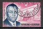 Briefmarke Burundi Mi.Nr. 46 A o  Prinz Louis Rwagasore 1963 Motiv: Politiker - Louis Rwagasore (#10152)
