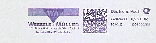 Freistempel 1D050002E5 Osnabrück - Wessels + Müller / Fahrzeugteile und mehr (#1475) 0