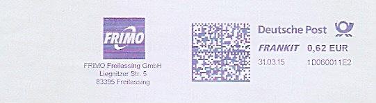 Freistempel 1D060011E2 Freilassing - FRIMO Freilassing GmbH (#1483) 0