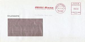 Freistempel B66 3660 Reutlingen - Willi Betz - Internationale Spedition (#AFS26)