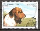 Briefmarke Afghanistan Mi.Nr. 1758 o Hunderassen 1998 Motiv: Hunde - Basset (#10175)
