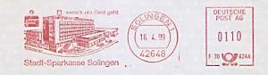 Freistempel F70 6244 Solingen - Stadt-Sparkasse Solingen - wenn´s um Geld geht (Abb. Sparkassengebäude) (#1506)