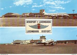 Ansichtskarte Luxemburg - Luxemburg - Flughafen (126)