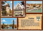 Ansichtskarte Deutschland - Bayern - Lindau - Mehrbildkarte mit Chronik (738)