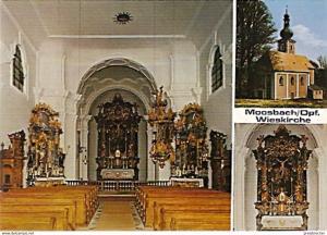 Ansichtskarte Deutschland - Bayern - Moosbach / Oberpfalz - Wieskirche (671)