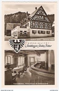 Ansichtskarte Deutschland - Bayern - Streitberg (Fr.Schw.) - Gasthof Schütz \