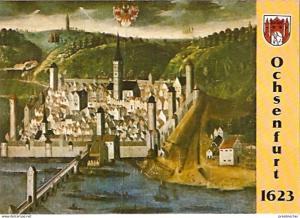 Ansichtskarte Deutschland - Bayern - Ochsenfurt am Main - Stadtansicht im Rathaussaal (307)