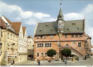 Ansichtskarte Deutschland - Bayern - Ochsenfurt am Main - Rathaus (305)