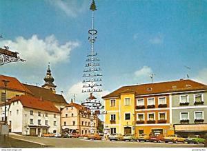 Ansichtskarte Deutschland - Bayern - Oberviechtach - Marktplatz (668)