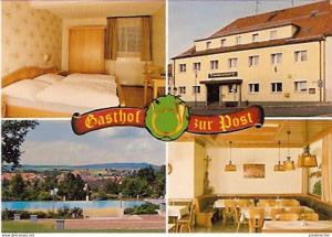 Ansichtskarte Deutschland - Bayern - Oberviechtach - Gasthof zur Post (400)
