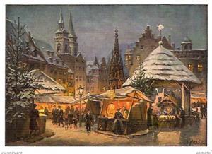 Ansichtskarte Deutschland - Bayern - Nürnberg - Christkindlesmarkt (564)