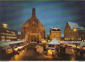 Ansichtskarte Deutschland - Bayern - Nürnberg - Christkindlesmarkt (560)
