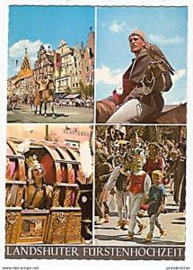 Ansichtskarte Deutschland - Bayern - Landshut - Landshuter Fürstenhochzeit (681)