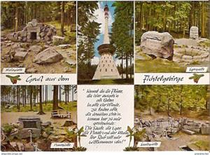 Ansichtskarte Deutschland - Bayern - Fichtelgebirge / Main-, Eger-, Naab-, Saale- Quellen (892)