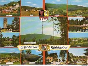 Ansichtskarte Deutschland - Bayern - Fichtelgebirge - Mehrbildkarte (860)