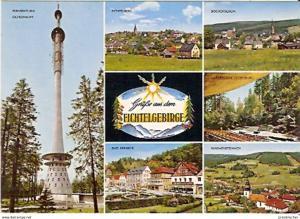 Ansichtskarte Deutschland - Bayern - Fichtelgebirge - Mehrbildkarte (858)