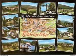 Ansichtskarte Deutschland - Bayern - Fichtelgebirge - Mehrbildkarte (859)