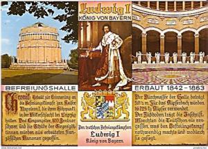 Ansichtskarte Deutschland - Bayern - Kelheim - Befreiungshalle - Chronik (868)