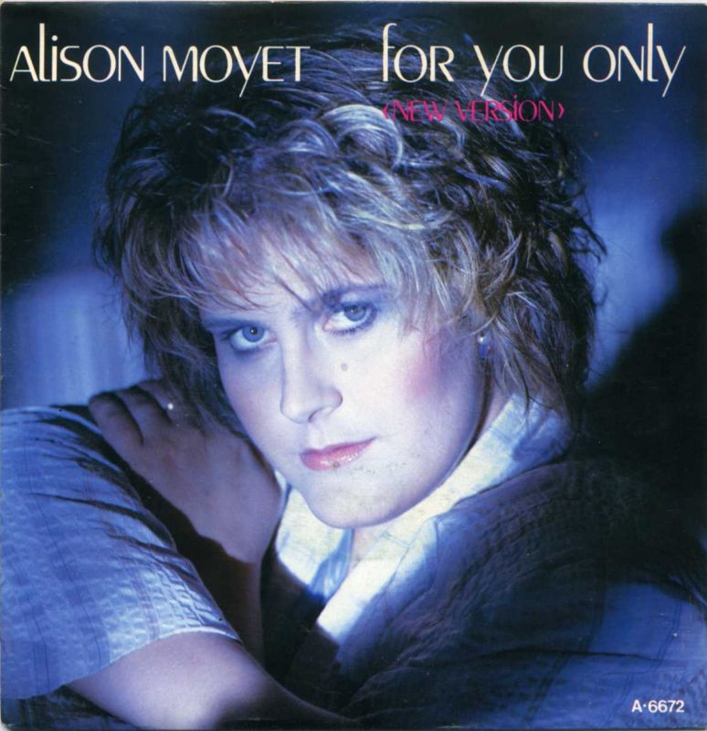 Vinyl-Single: <b><br>Alison Moyet: <br>For You Only (New Version) / Twisting The Knife </b><br>CBS A 6672, (P) 1984/85